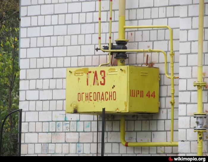 крепление ГРПШ к стене серия